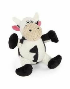 GoDog Checkers Sitting Cow Small