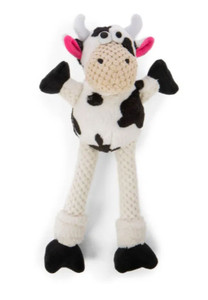 GoDog Checkers Skinny Cow Small with Chewguard technology- Mickeyspetsupplies.com