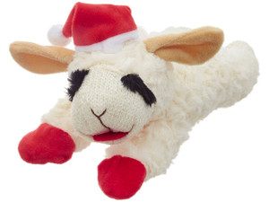 Multipet Holiday Lambchop 10 inch- Mickeyspetsupplies.com