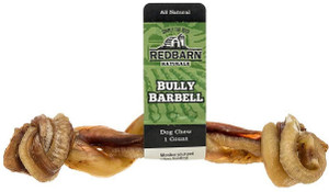Redbarn Bully Barbell All Natural Dog Chew