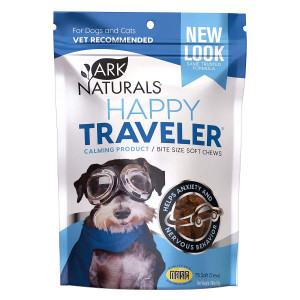 Ark Naturals Happy Traveler Calming Soft Chews- Mickeyspetsupplies.com