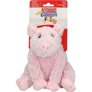 KONG Comfort Kiddos Pig Small- Mickeyspetsupplies.com