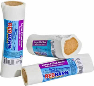 Redbarn Peanut Butter Filled Large Bone- Mickeyspetsupplies.com