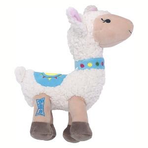 Lulubelle's Power Plush Dolly Llama Dog Toy-Large