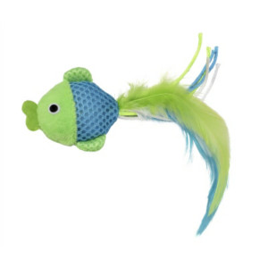 Multipet Feline Clean Catnip Toy Fish