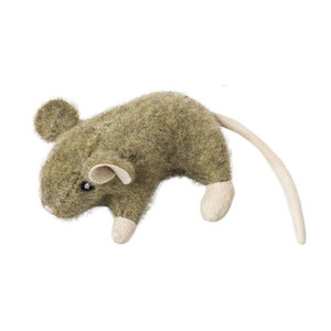 Ethical Spot Wool Mouse Cat Toy- Mickeyspetsupplies.com