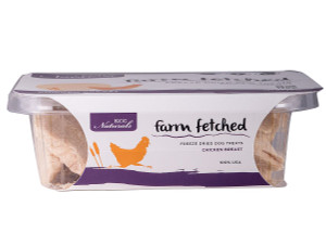 KCC Farms Freeze Dried Chicken Breast Dog Treats 3.4 oz.