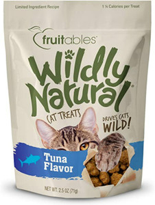 Fruitables Wildly Natural Tuna Cat Treats