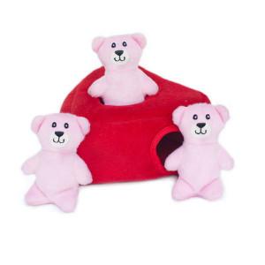 ZippyPaws Valentine Heart Burrow Dog Puzzle Toy