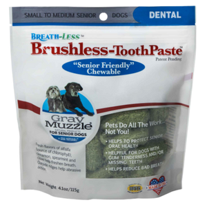 Ark Naturals Brushless Toothpaste Gray Muzzle