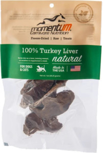 Momentum Carnivore Nutrition Freeze Dried Turkey Liver  1 oz.