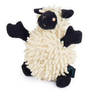GoDog Fuzzy Wuzzy Lamb Dog Toy