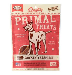 Primal Chicken Shredders Dry Roasted Treats
