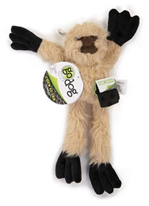 Go Dog Crazy Tugs Sloth Large Dog Toy