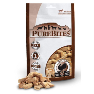 PureBites Turkey Dog Treats
