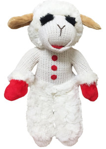 Multipet Standing Lambchop 13 inch dog toy