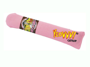 Yeowww! Its's A Girl Pink Cigar Catnip Toy