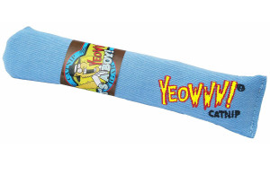 Yeowww! It's A Boy Blue Cigar Catnip Cat Toy- Mickeyspetsupplies.com