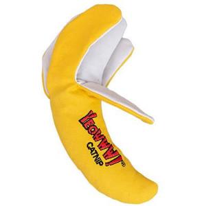 Yeowww! Chi-Cat-a Banana Peeled Catnip Toy - Mickeyspetsupplies.com
