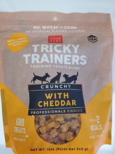 Cloud Star Tricky Trainers Crunchy Cheddar 12 oz. - Mickeyspetsupplies.com