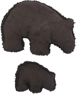 West Paw Big Sky Grizzly Small Chocolate dog toy