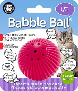 Pet Qwerks Cat Babble Ball