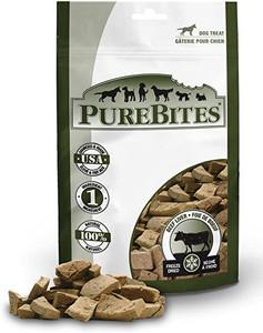 PureBites Beef Liver Dog Treats 4.2 oz