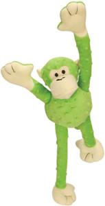 GoDog Mr. Monkey Crazy Tug Large- Lime Green
