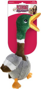 KONG Shakers Honkers Duck Small Dog Toy