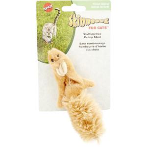 Spot Skinneeez Forest Animal Catnip cat toy