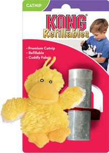 KONG Refillables Duckie Catnip Cat Toy - Mickeyspetsupplies.com