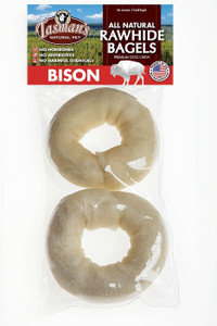 Tasman's Bison Rawhide Donuts 2 Pack (Bagels)