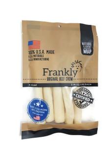 Frankly Pet USA Collagen Mini Rolls 5 Pack- Rawhide Alternative