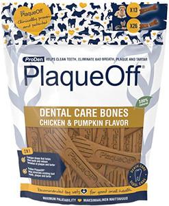 ProDen PlaqueOff System Dental Care Bones - Chicken & Pumpkin Flavor