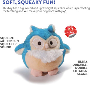 Charming Pet Howling Hoots Dog Toy