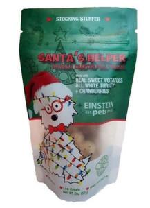 Einstein Pets Santa's Helper Holiday treats 2 oz.