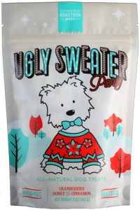 Einstein Pets Ugly Sweater Holiday Dog Treats 5oz