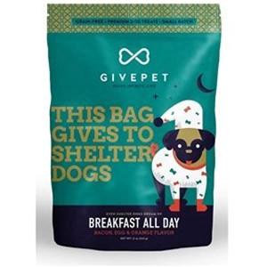 GivePet Breakfast All Day Bacon, Egg & Orange dog treats 4oz