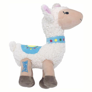Lulubelle's Power Plush Dolly Llama Dog Toy - Small
