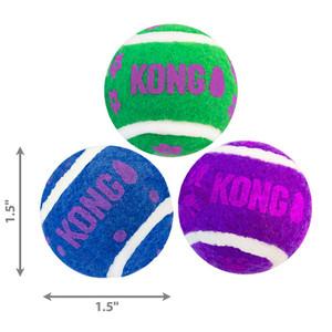 KONG Active Tennis Balls with Bells