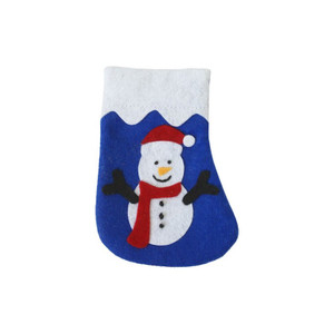 Imperial Cat Cat 'n Around Snowman Stocking Refillable Catnip Toy