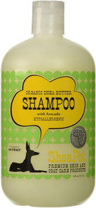Earthbath SheaPet Organic Shea Butter and Avocado Shampoo 18oz