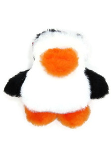 Penguin plush Made in USA dog toy - Small