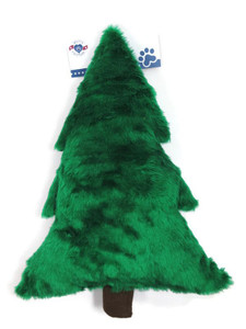 Christmas Tree plush Made in USA dog toy