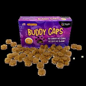 Spunky Pup Buddy Caps Pumpkin Dog Treats
