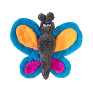 Cycle Dog Duraplush Butterfly USA Dog Toy