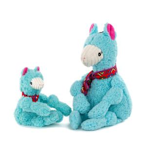 HuggleHounds Wild Things Llama Knottie Large dog toy