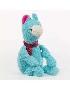 HuggleHounds Wild Things Llama Knottie dog toy - Small