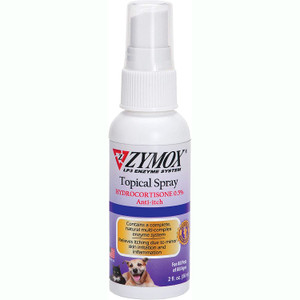 Zymox Topical Spray for Pets with 0.5% Hydrocortione