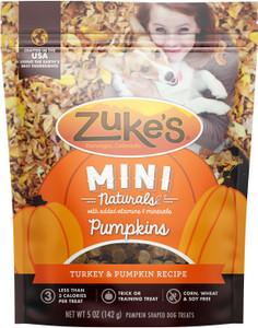 Zuke's Mini Naturals Pumpkins Turkey & Pumpkin Dog Treats 5 oz.